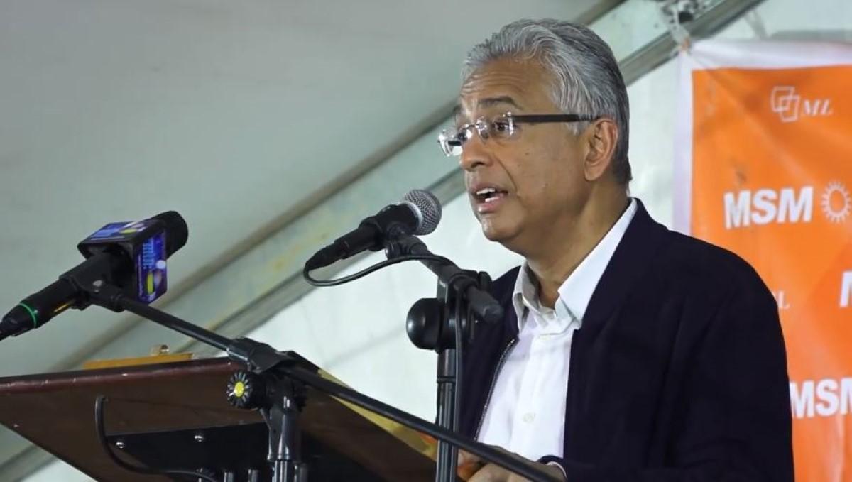 Appartenance ethnique : Pravind Jugnauth accuse le MMM d'avoir refusé de voter en faveur d'une loi sur la réforme électorale en 2018