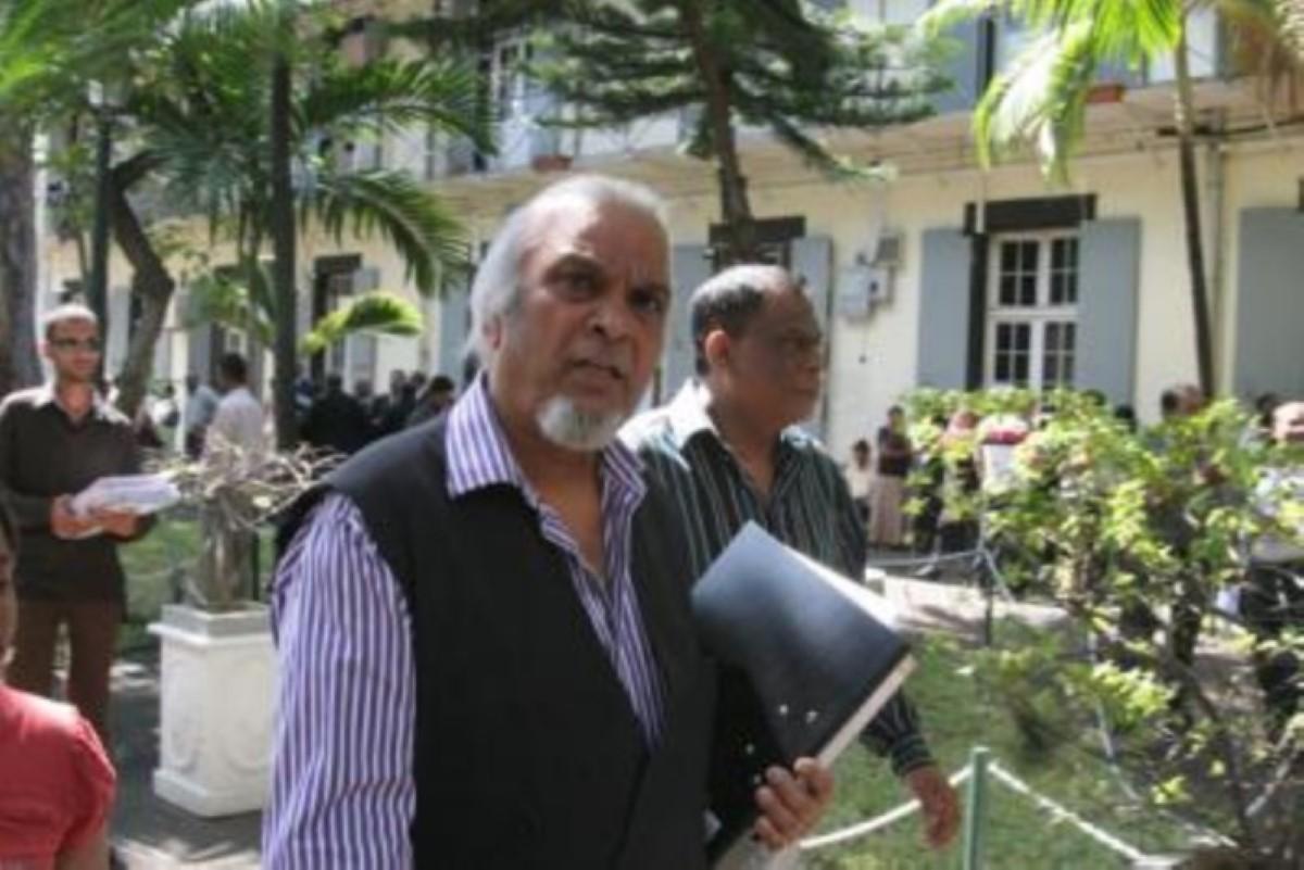 L'ordre des avocats estime que Dev Hurnam est un 'bad boy'