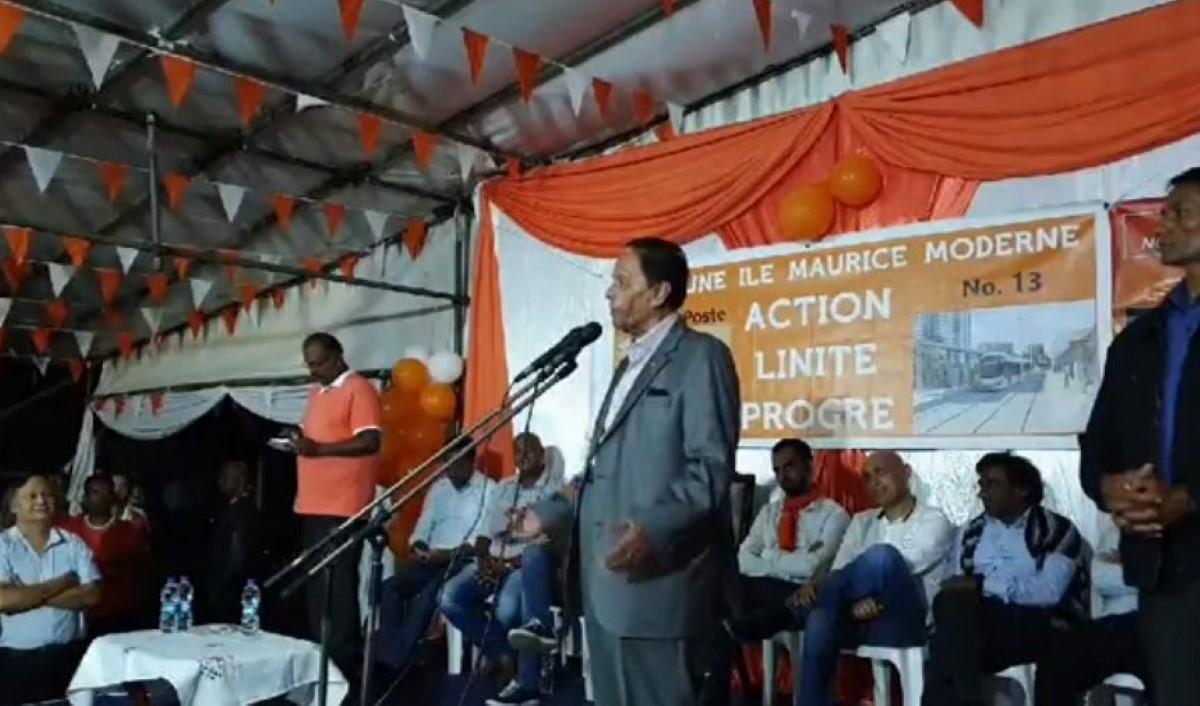 SAJ continue à vouloir faire parler les morts...« So papa ti dir mwa, zamai les Navin fer politik »