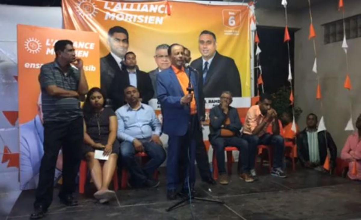 SAJ : Les Mauriciens doivent choisir entre son fils et celui de Sir Seewoosagur Ramgoolam