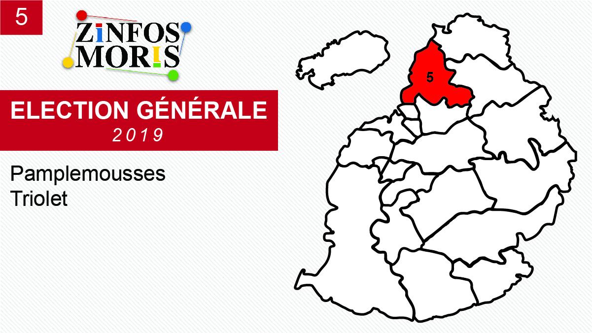 [Législatives 2019] Taux de participation au No 5 : 74,91%
