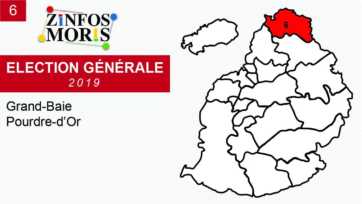 [Législatives 2019] Taux de participation au No 6 : 76,74%