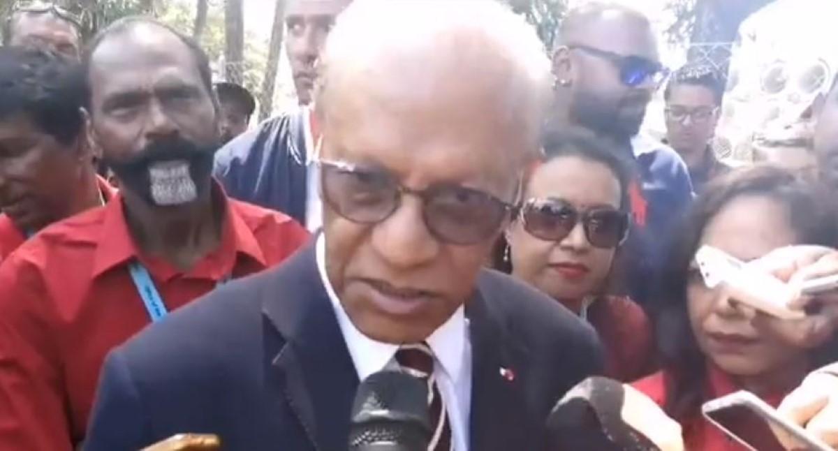 Les graves allégations de Navin Ramgoolam