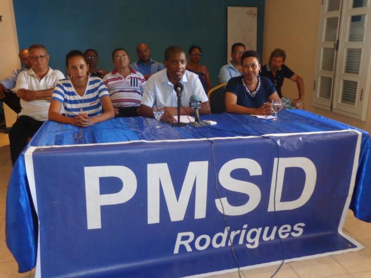 Le PMSD satisfait... à Rodrigues