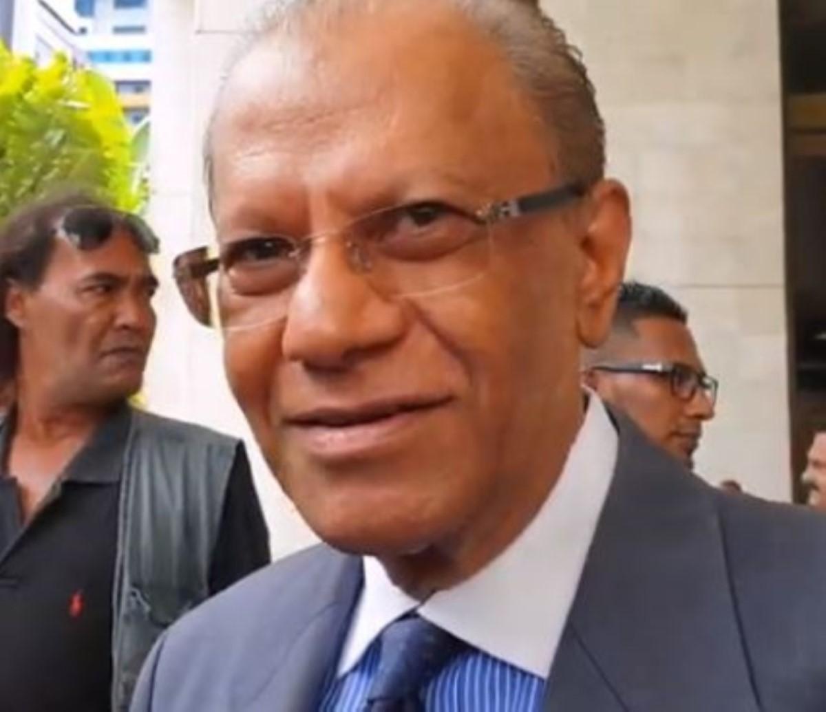 Affaire des coffres-forts : le procès contre Ramgoolam rayé