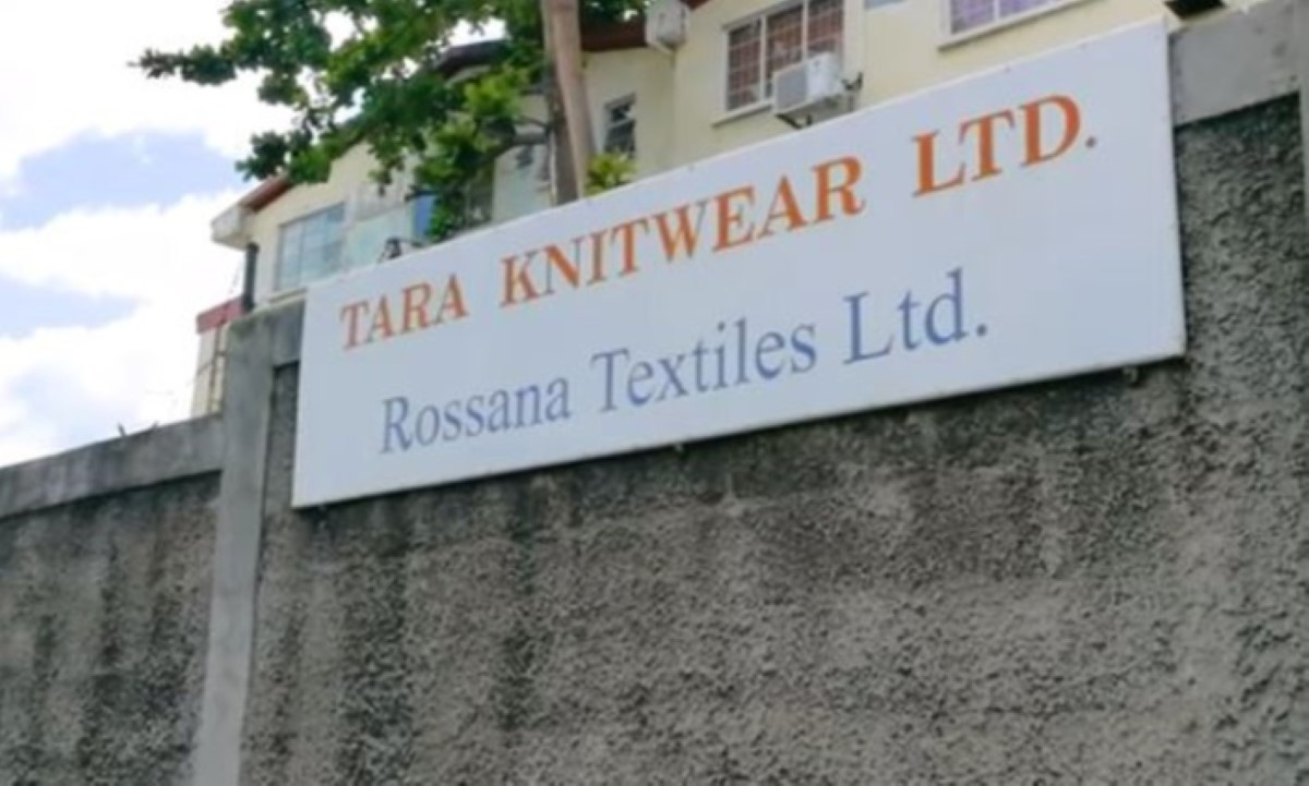 Textile : Mise en liquidation des unsines Tara Knitwear et Rossana Textiles