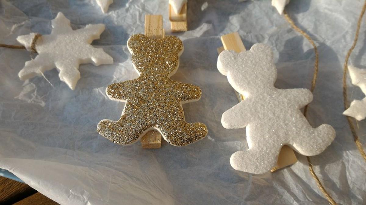 DIY de Emmanuelle : Porcelaine froide sans cuisson pour les décos de Noël