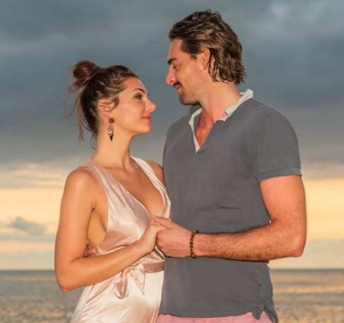 [People] Le champion de natation Camille Lacourt et sa nouvelle compagne, en vacances à l'île Maurice
