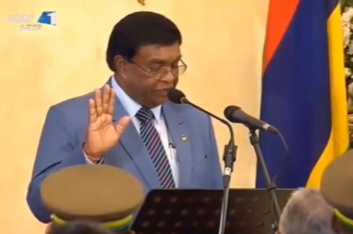 Pritivirajsingh Roopun est le nouveau président de la République de Maurice