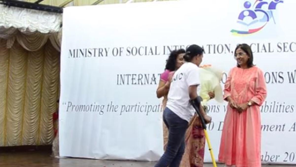 Fazila Jeewa-Daureeawoo parle de la pension d'invalide et du Disability Bill