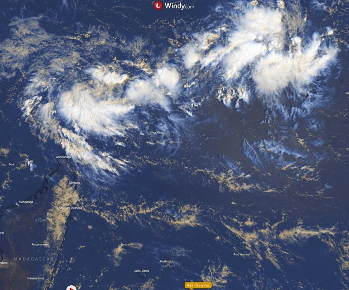 Risque de formation de 2 tempêtes tropicales cette semaine