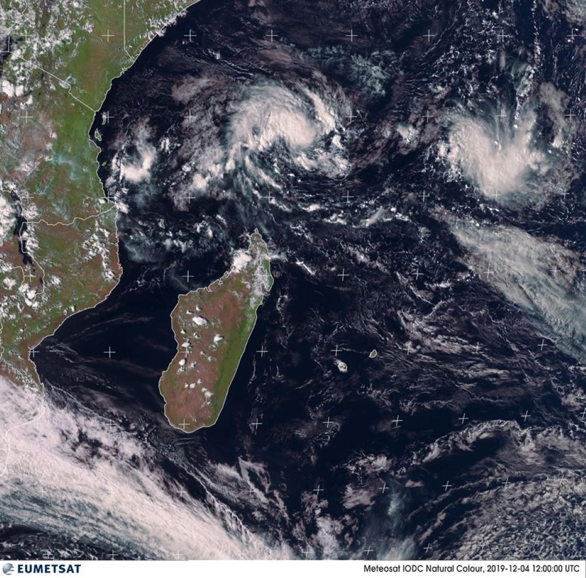 Le Nord de Madagascar passe en alerte cyclonique verte (avis d'avertissement)
