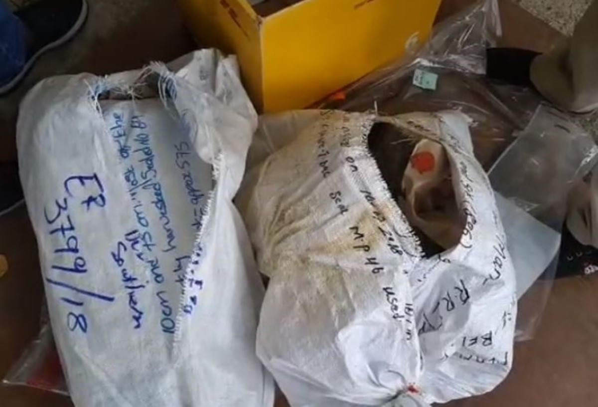 La police brûle Rs 76 millions de drogue aux Casernes