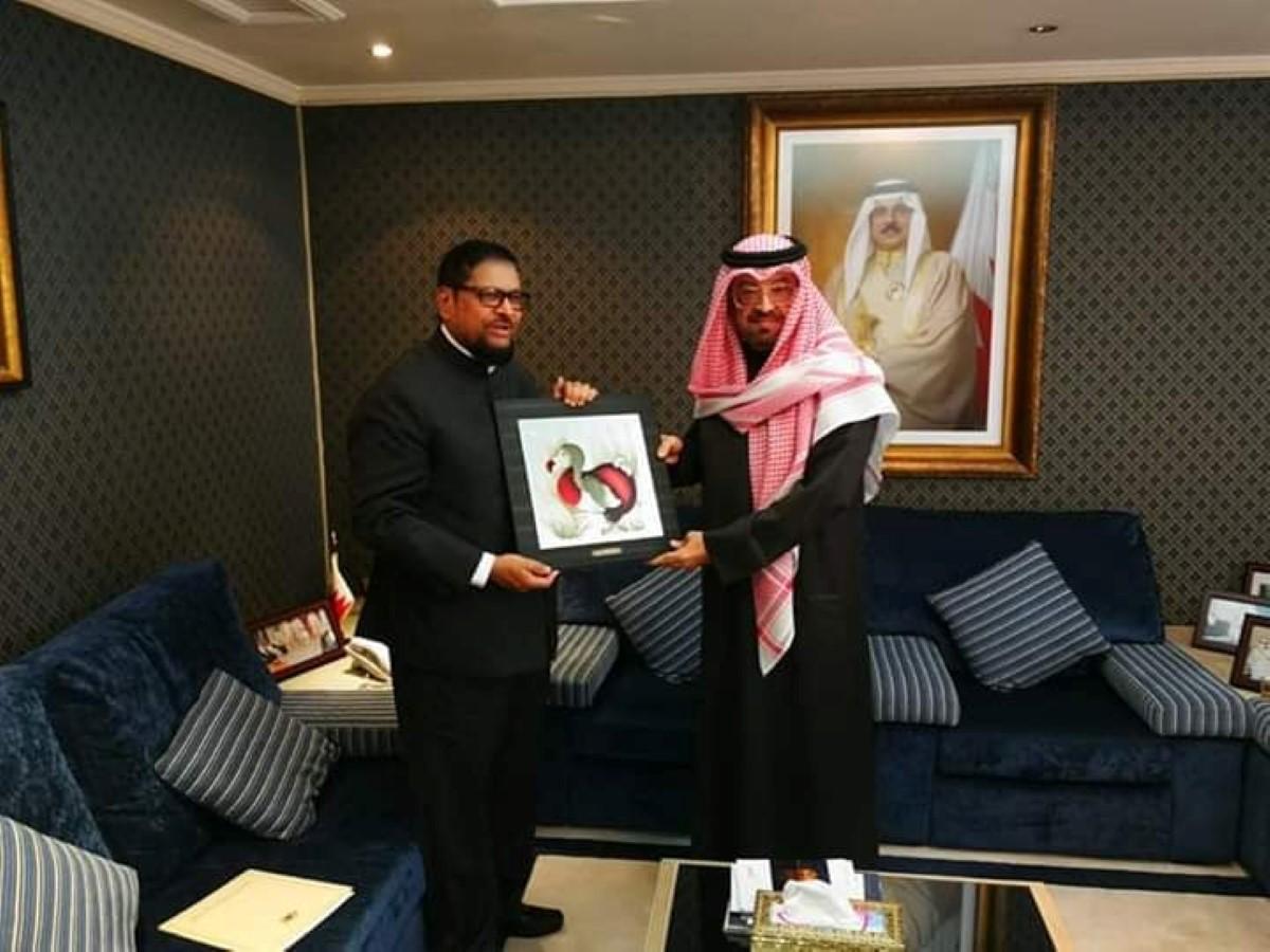 Soodhun rencontre le ministre des Affaires étrangères saoudien