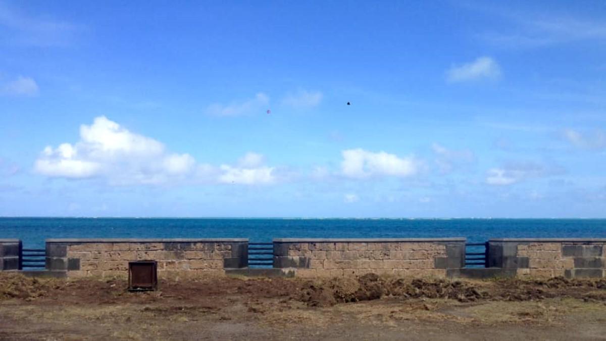 Vieux Grand-Port : Les canons centenaires de la Pointe du Diable en cours de restauration