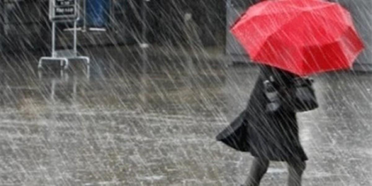 De grosses averses orageuses s'abattent dans les régions du Nord et l'Ouest
