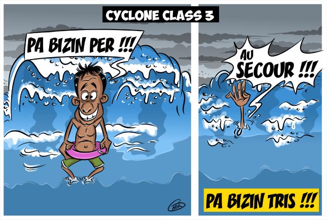 [KOK] Le dessin du jour : Pa bizin per ! Pa bizin triste !
