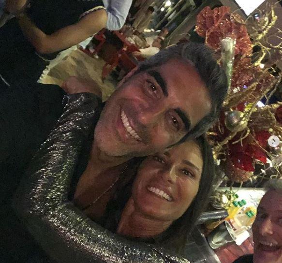 Nathalie Marquay et l'acteur Ary Abittan