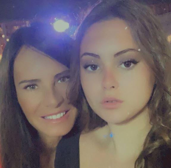Nathalie Marquay et sa fille Lou.