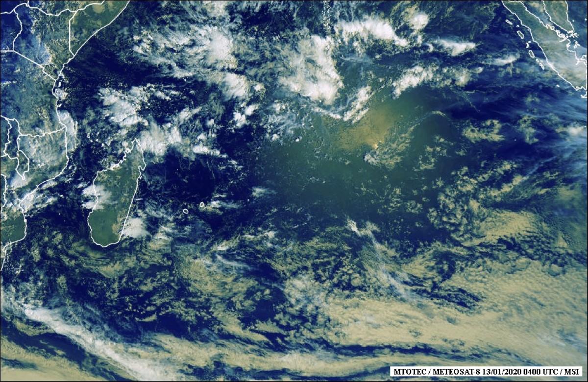 Le cyclone Diane pour la semaine prochaine ?