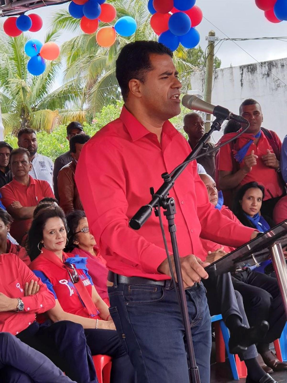 [Discours-programme] Fabrice David ouvrira les débats pour l'opposition