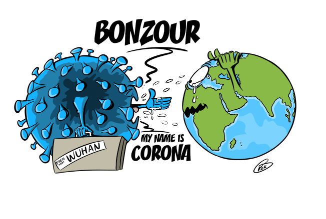 [KOK] Le dessin du jour : My name is Corona