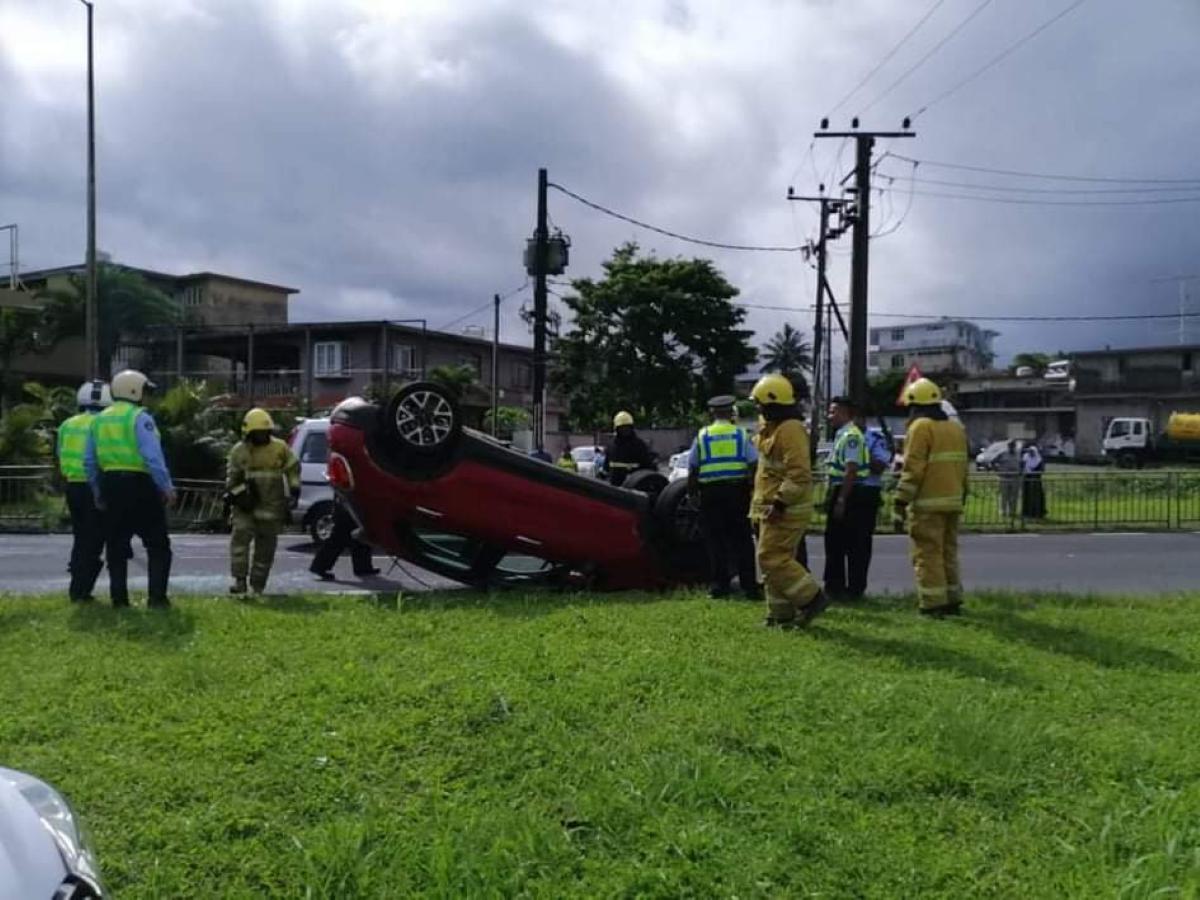 Un homme blessé dans un accident de la route à Nouvelle-France