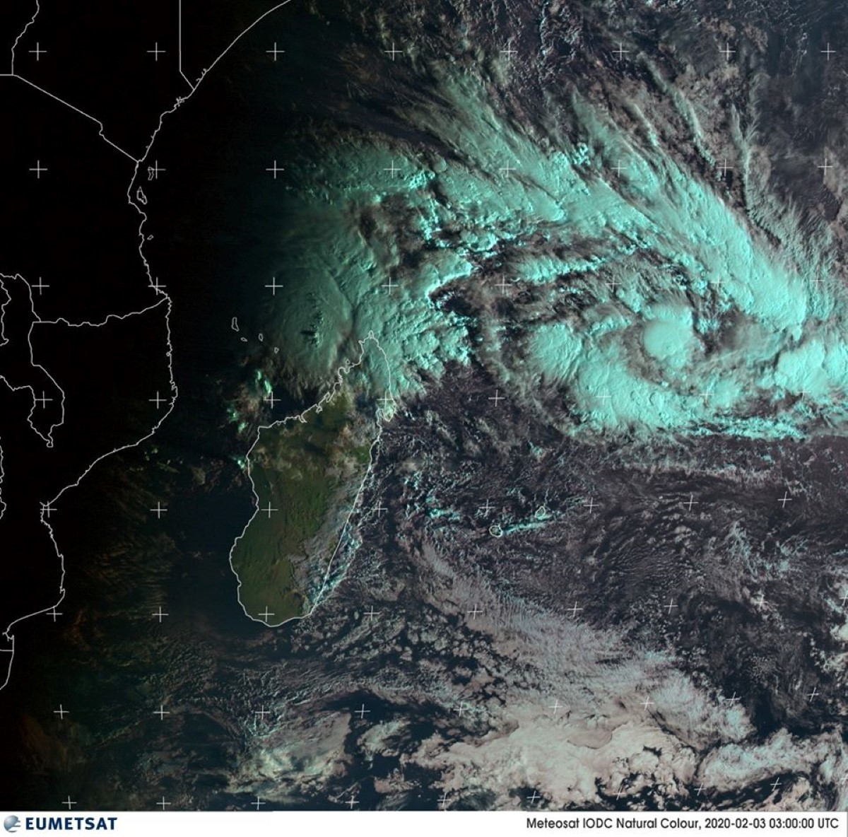 Probabilité élevée d'une tempête tropicale modérée au Nord-Est de Rodrigues cette semaine