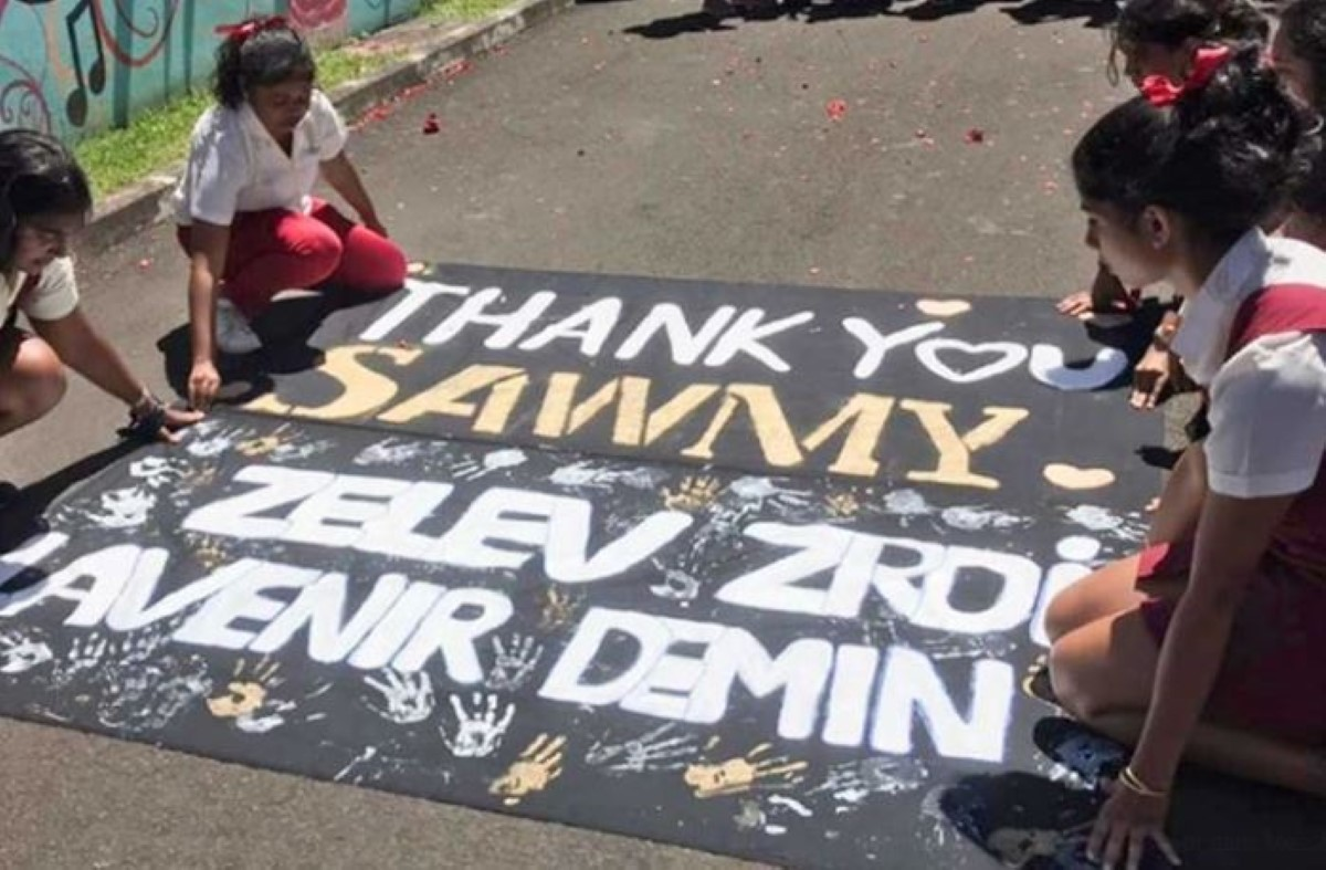 "L'image du jour : ""Thank You Sawmy"""