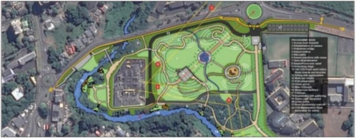 Le Recreational Park d'Ébène au coût de Rs 100 millions prêt en avril