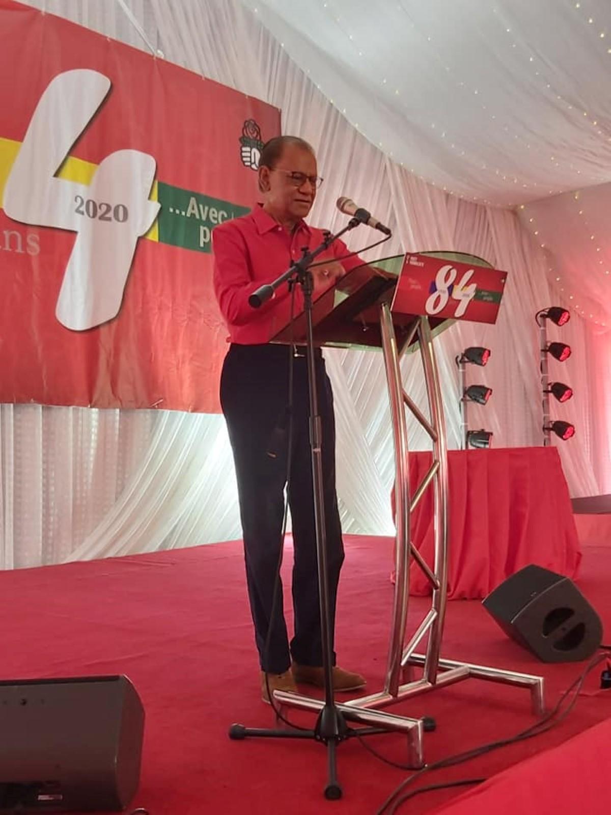 Ramgoolam :  «La verite bizin triomphe devan enn gouvernman illegitime»