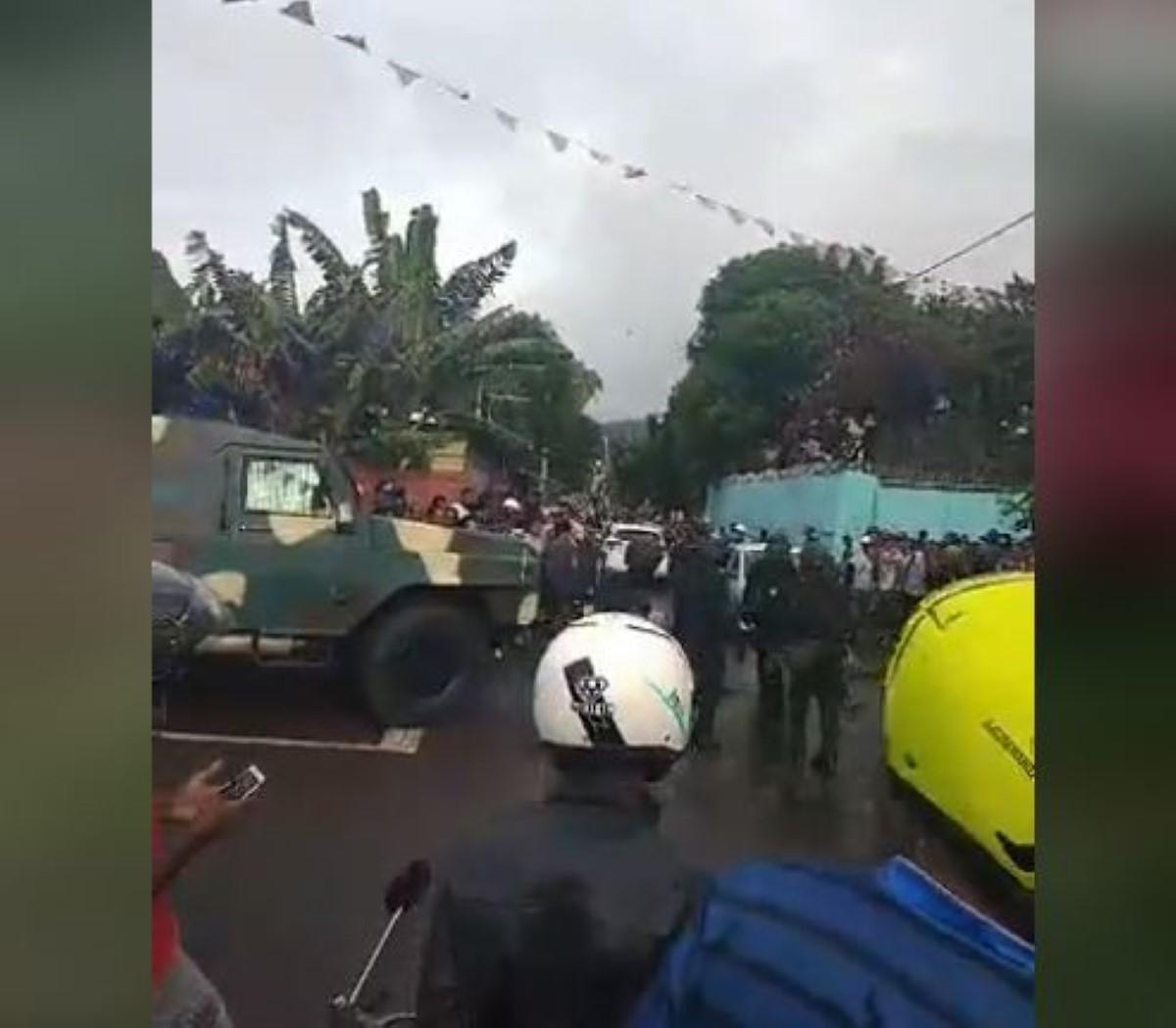 Karo Kalyptus, arrestations, saisie de drogue et tension
