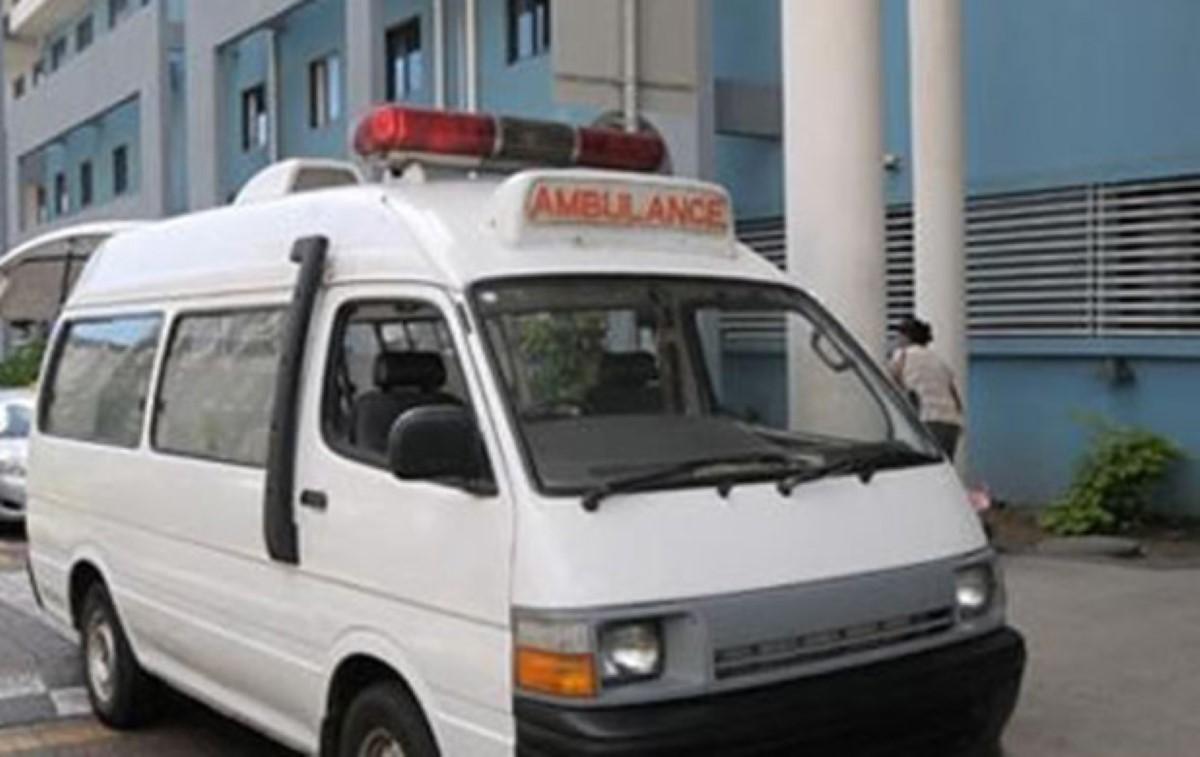 Accident entre un van scolaire et une voiture