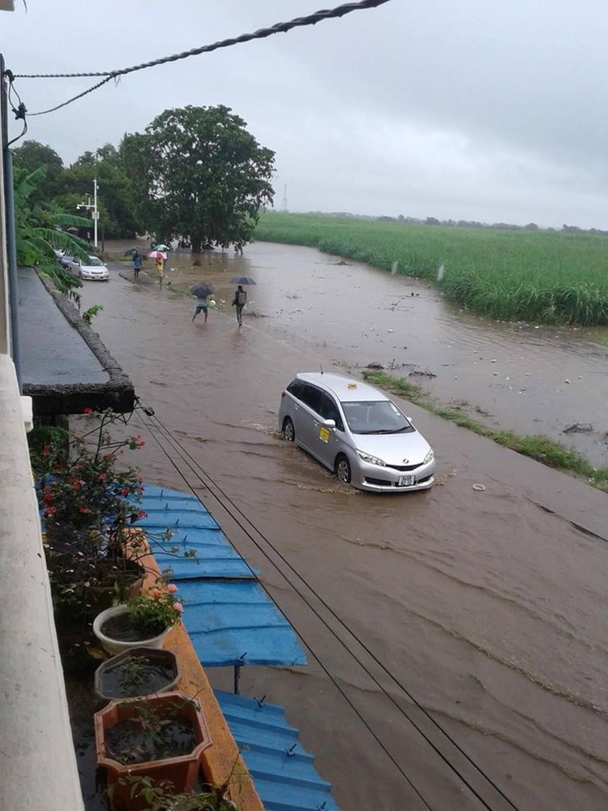 Mauvais temps : Le pont Argy impraticable et inondé