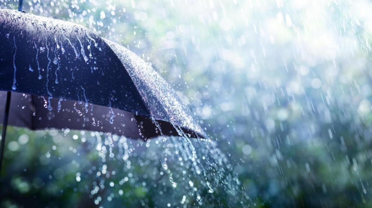Avis de fortes pluies ce mardi à partir de 04h00 du matin