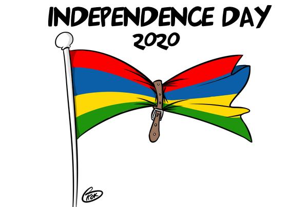 """[KOK] Le dessin du jour : Independence Day sous le thème """"Ser cintir"""" !"""