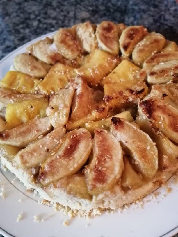 ▶️ [Denis Rajah] La recette maison de la tarte aux pommes et ananas