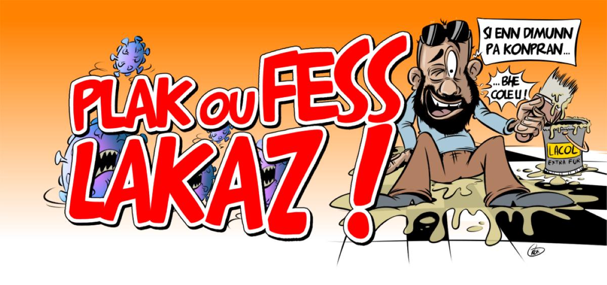 L'actualité vu par KOK : Plak ou fess lakaz !