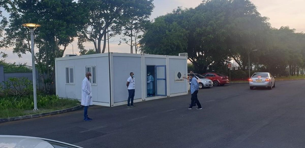 📷 L'hôpital Wellkin aménage une unité pour recevoir des patients suspectés du Covid-19