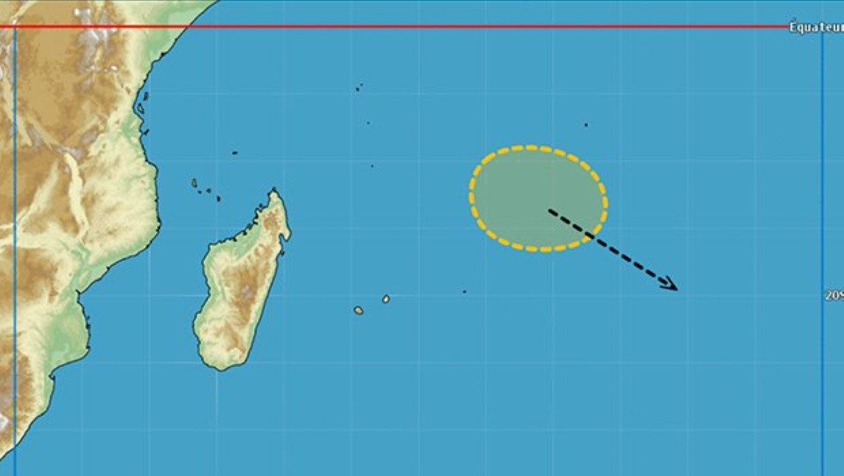 Possible cyclogenèse au Nord-Est de Rodrigues à partir de ce samedi