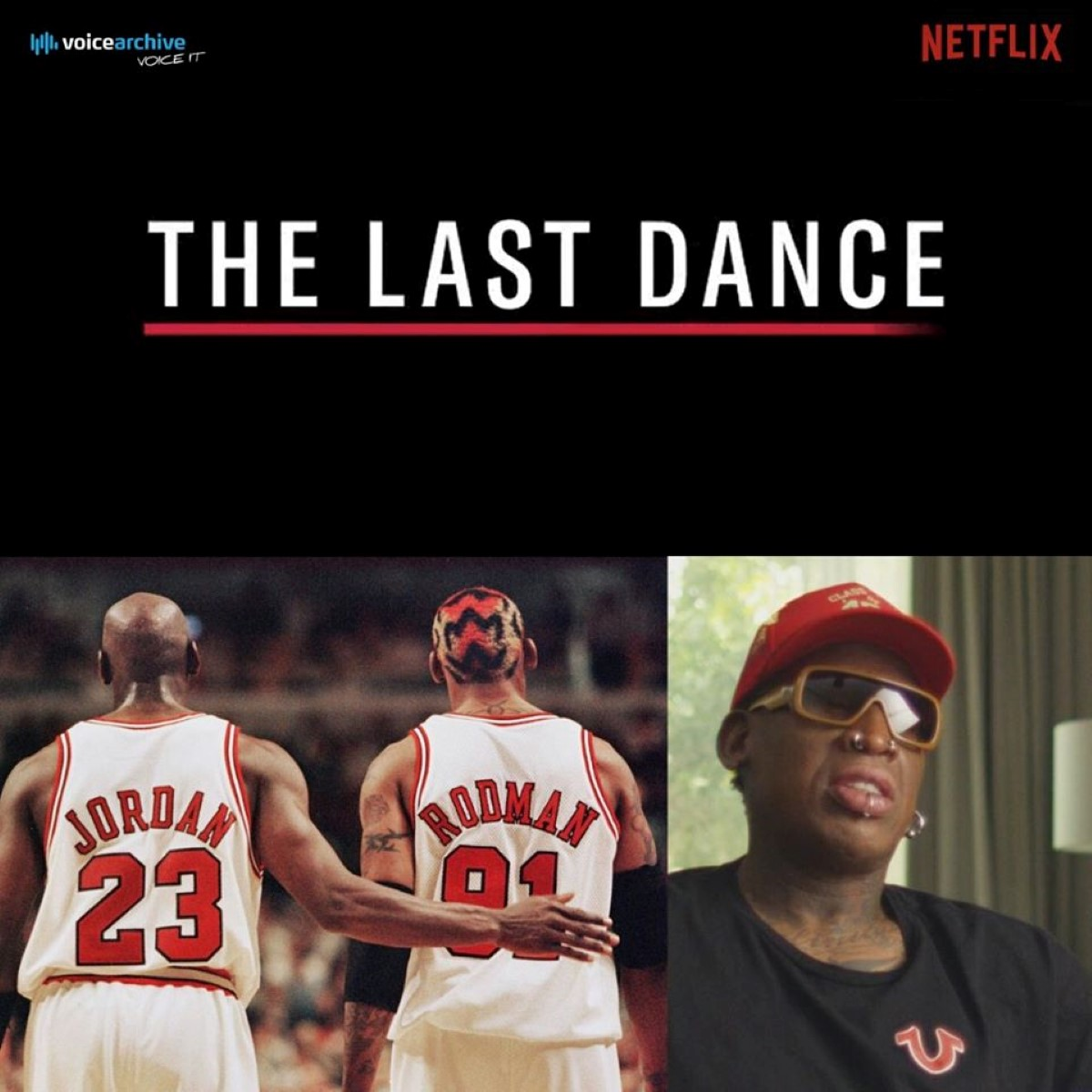 """Le Mauricien David Furlong est la voix française de Dennis Rodman dans """"THE LAST DANCE"""" sur Netflix"""