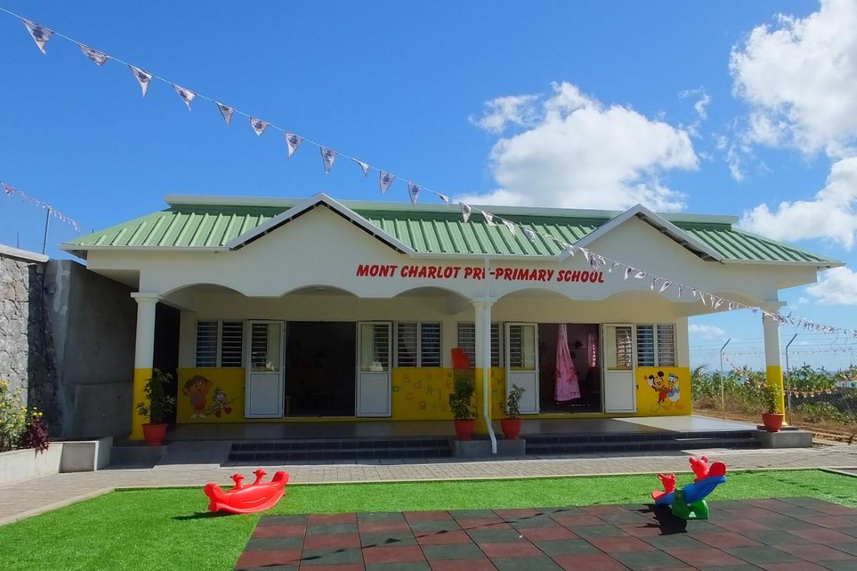 Photo illustration. Ecole pré-primaire de Montagne Charlot