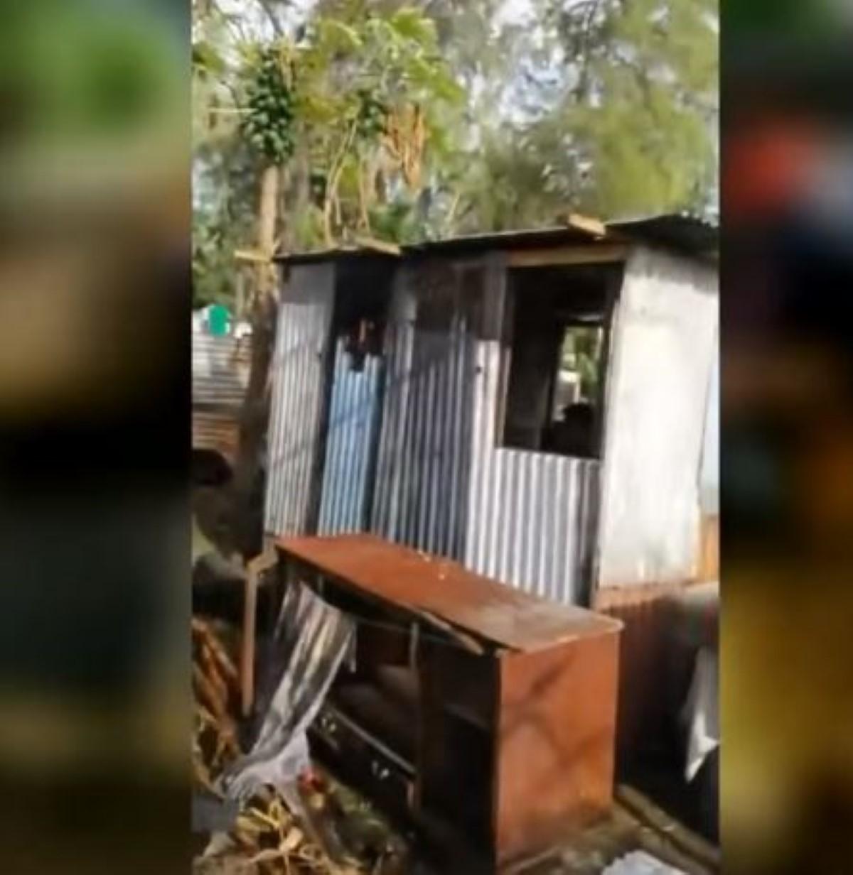 Expulsion de squatters à Riambel