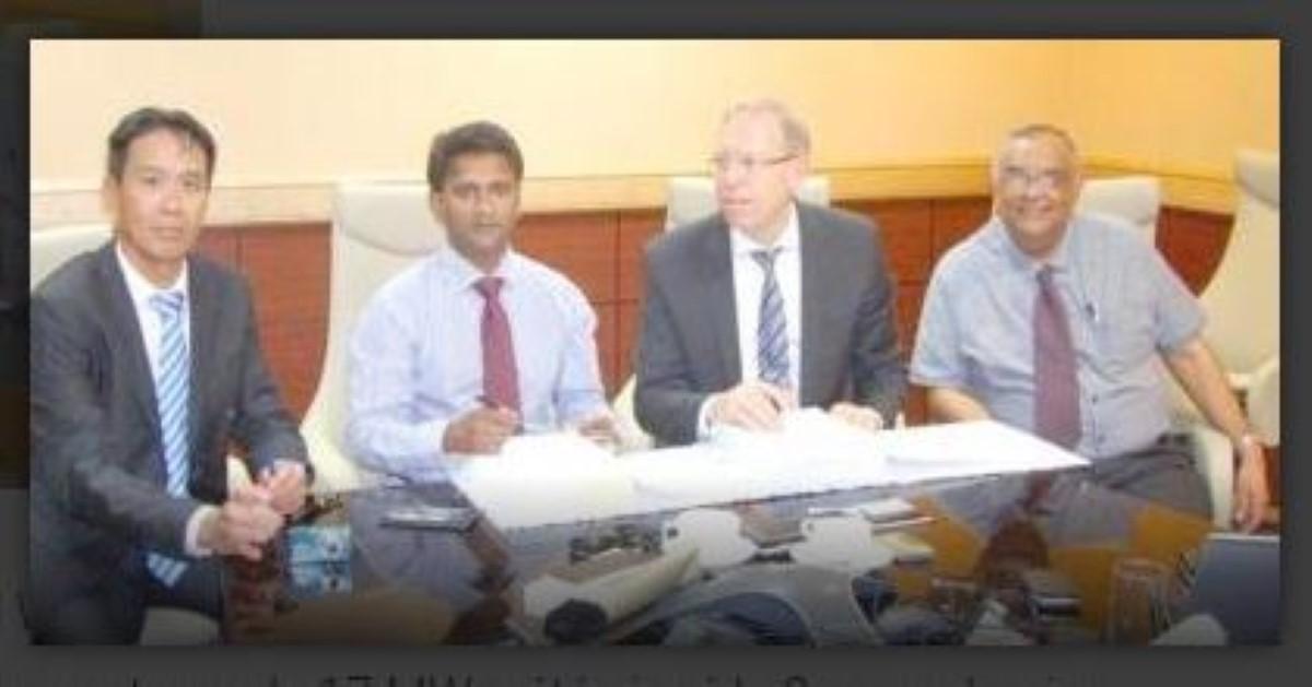 Signature de l'accord entre BWSC et le CEB