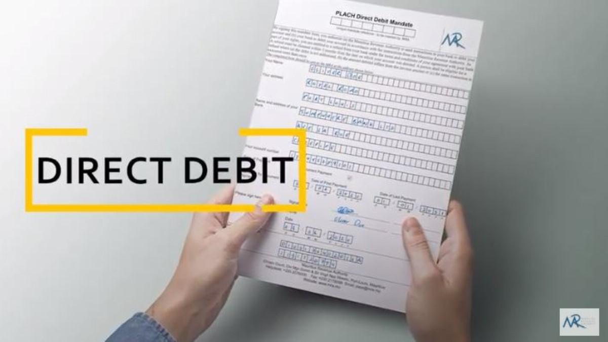 MRA : Le paiement des impôts à travers un service en ligne « Direct Debit »