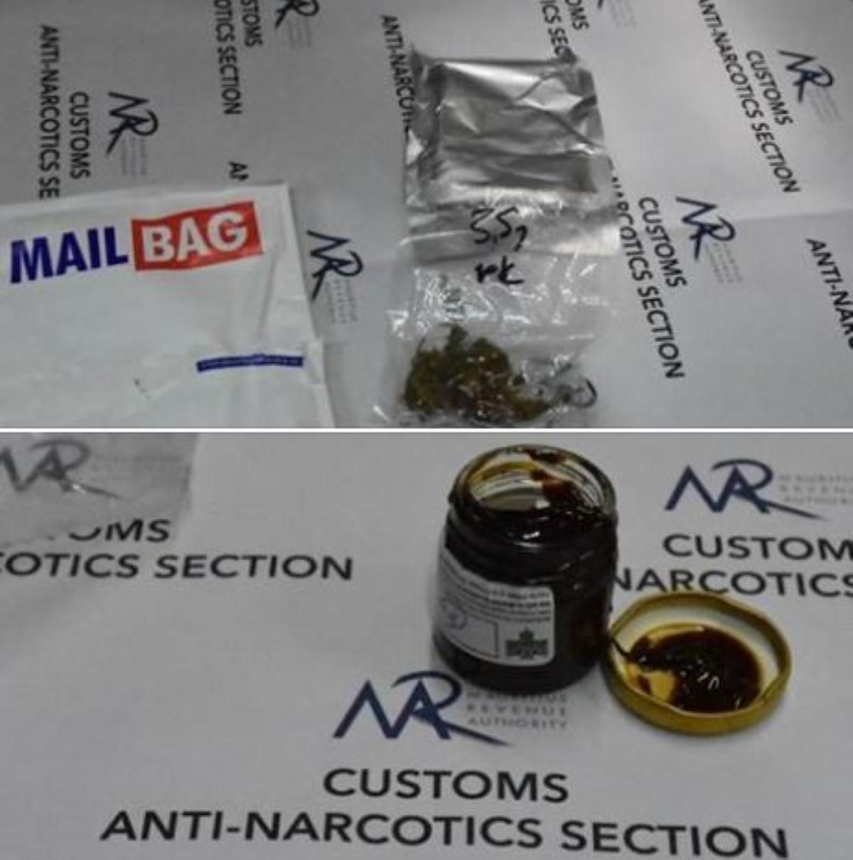 Poste Centrale : Saisie de Rs 100 000 de cannabis