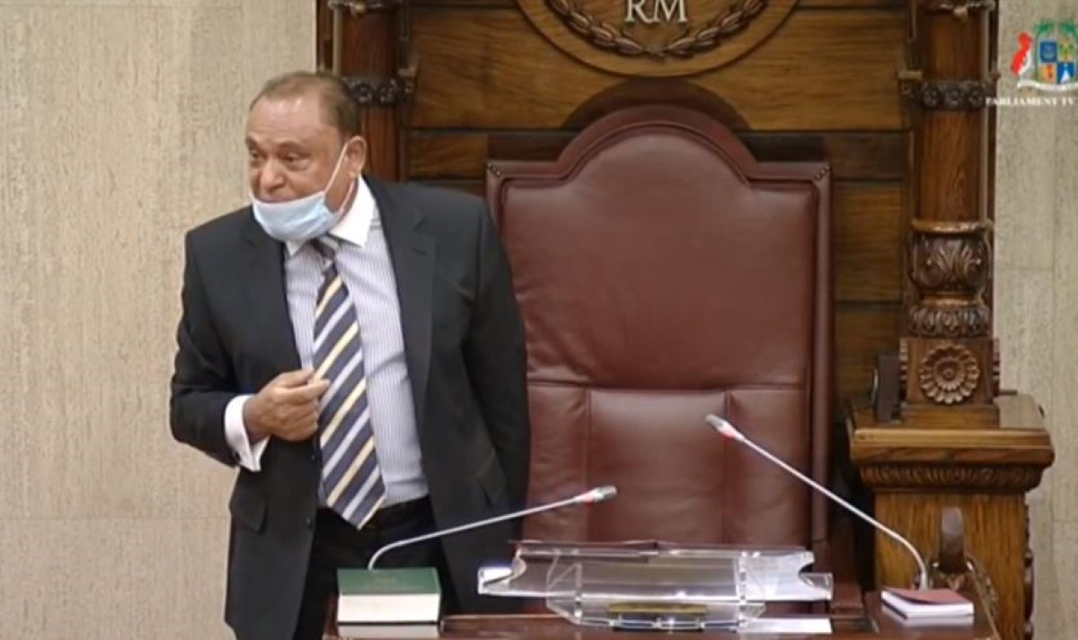 Expulsion de l'opposition par le Speaker : Arvin Boolell logera une plainte devant la justice