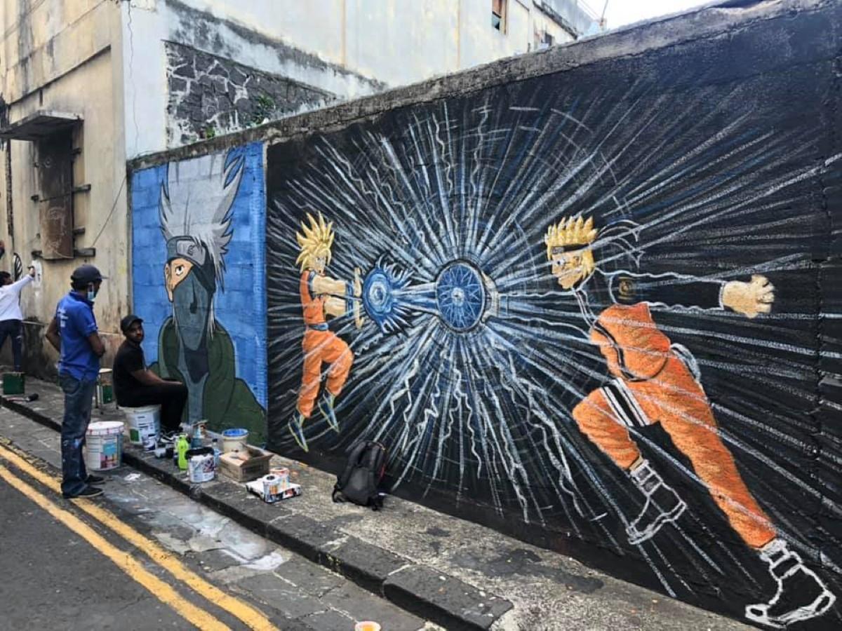 Le China Town de Port-Louis se réinvente, au programme le Manga street