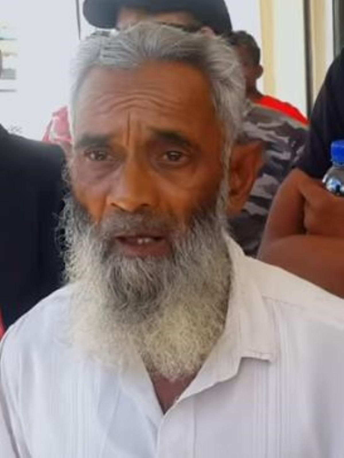 Le père d'Iqbal Toofanny déçu