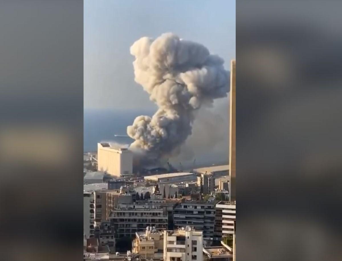 [Vidéo] Double explosion à Beyrouth : des morts et plus d'un millier de blessés, un deuil national décrété